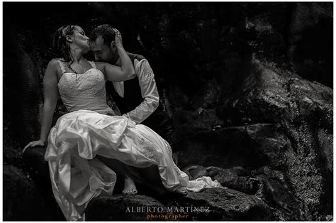imagenes de boda a blanco y negro trash the dress en el manto nayarit