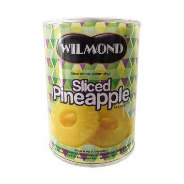 Wilmond Sliced Pineapple In Syrup Canned Buah Nanas Kaleng jual daily deals wilmond sliced pineapple in syrup canned buah nanas kaleng 567 g