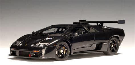Lamborghini Diablo Black Autoart Lamborghini Diablo Gtr Black 54522 In 1 43