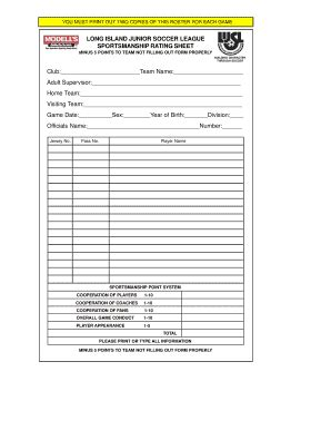hockey report card template soccer report form fillable fill printable