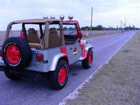 Jurassic Park Jeep Wrangler For Sale Find Used 1995 Jeep Wrangler Jurassic Park Custom Design