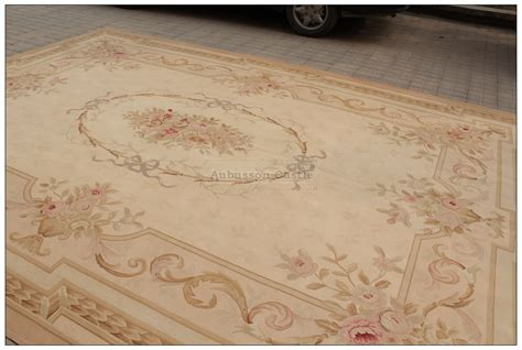 10 X 14 Neurtral Rug by 10x14 Wool Handmade Aubusson Area Rug Antique