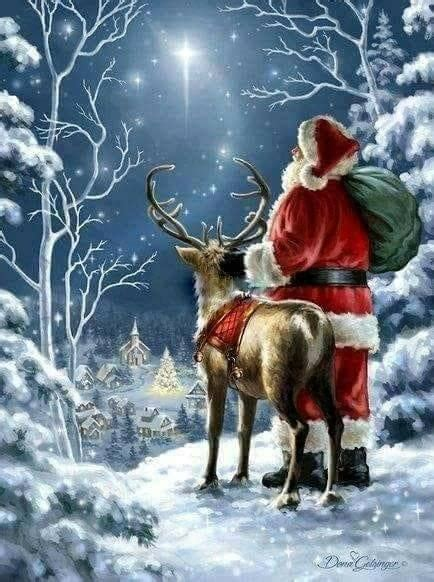 best art of santa and eight teindeer best 25 reindeer ideas only on where is lapland reindeer photo and holidays to lapland