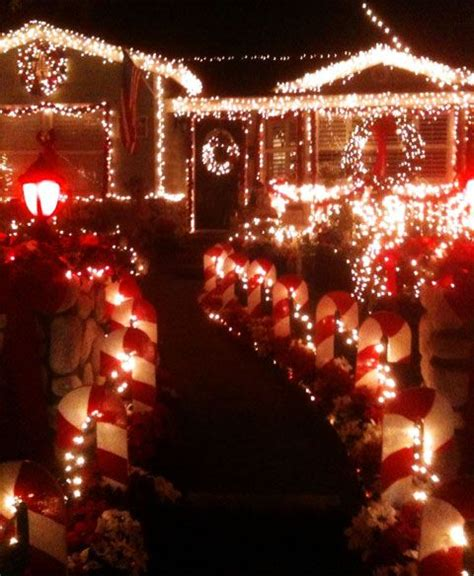 candy lane christmas lights in torrance candy cane lane torrance candy cane lane christmas