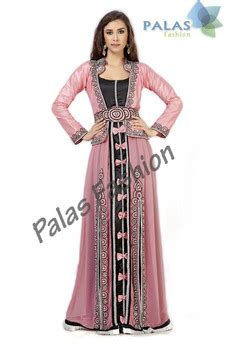 Gamis Abaya Maroko Sari India moroccan caftan kaftan dress pink embroidered dubai