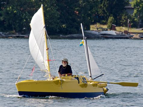 how big of a boat to sail around the world skippering the smallest boat around the world sail magazine