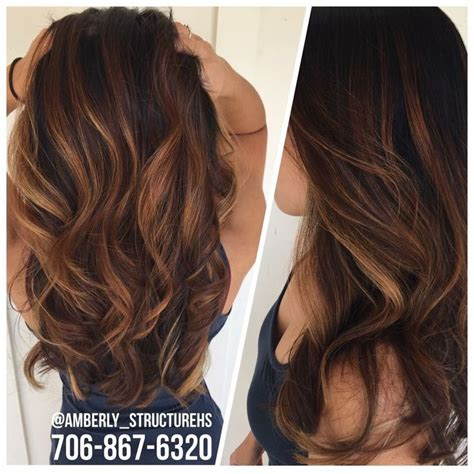 subtle hair color subtle balayage for fall fallhair balayage