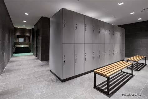 changing room design fashion company diesel commissioned bizinteriors to design