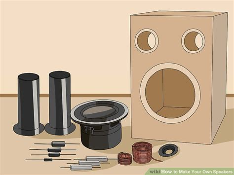 speaker cabinet building supplies how to make your own speakers 12 steps with pictures