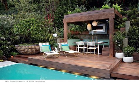 patio garden design inspiration jamie durie booktopia 100 gardens by jamie durie 9781742378909 buy