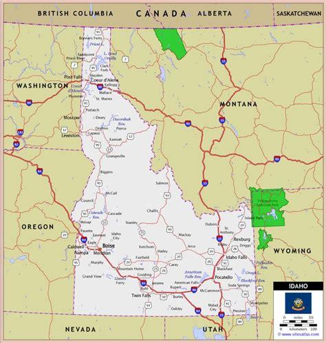 idaho montana map 17 best images about maps on montana idaho