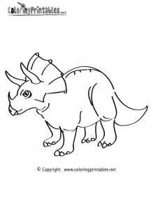 triceratops coloring page free coloring pages of triceratops