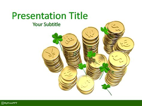 Free Powerpoint Templates Myfreeppt Powerpoint Challenge Coin Template