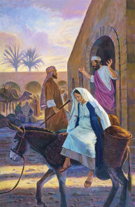 no room at the inn for mary and joseph and the donkey quot there was no room for them in the inn quot aggieland mormons