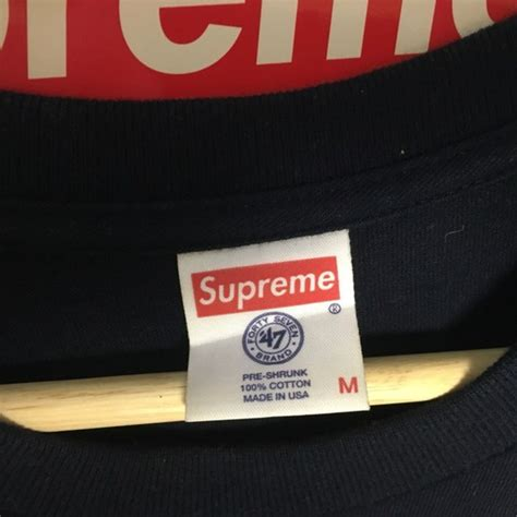 Tshirt Supreme Navy supreme x new york yankees box logo navy t shirt supreme box logo sz m supreme for sale yeezy