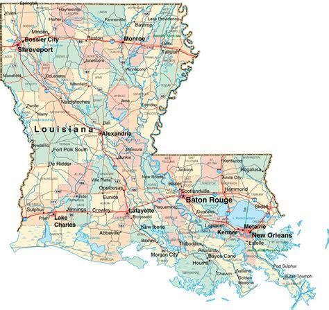 printable road map of louisiana 100 maps of louisiana map of texas and louisiana my