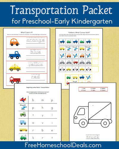 pattern games for kindergarten smartboard free transportation themed printable packet for prek early