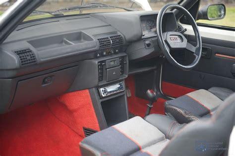 Peugeot 205 Gti Carpet peugeot 205 gti 1 9l front interior peugeot 205 gti 1 9l