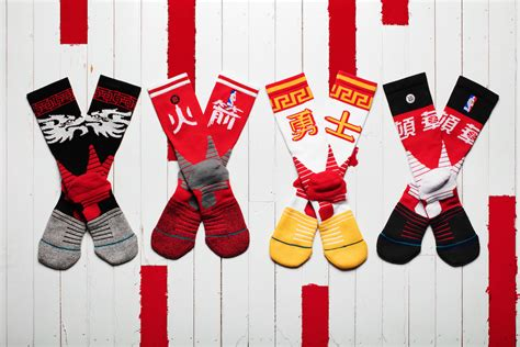 nba new year shoes stance unveils nba quot new year quot socks