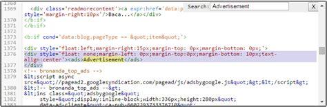 adsense xml cara memasang teks quot advertisement quot diatas iklan google