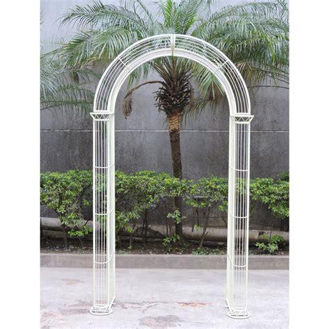 Garden Arch Ebay Uk Charles Bentley Wrought Iron Pastel Garden Arch Outdoor