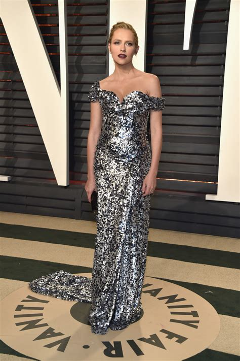 The Oscars Liveblog At Catwalk Shiny Shiny by Teresa Palmer In An The Shoulder Sparkling Dress The