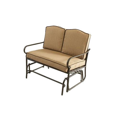 patio glider bench outdoor benches and gliders trend pixelmari com