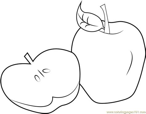 apple coloring pages pdf sliced apple coloring page free apples coloring pages