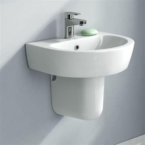 houzz bathroom sinks lyon wall mounted semi pedestal basin contemporary bathroom sinks south east