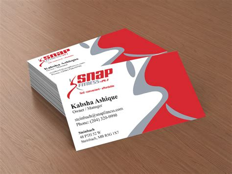 snap card templates fitness business cards fitness business cards inspiration