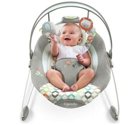 baby bouncer chair age buy ingenuity smartbounce automatic bouncer candler