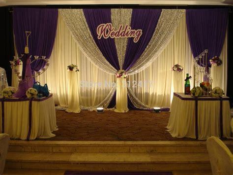 backdrop design wedding sle aliexpress com buy hotsale elegant two layer wedding