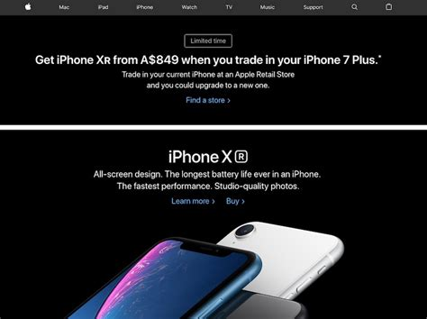 apple extends iphone xr and iphone xs trade in promotion to europe canada australia china