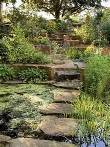 stepping stone bridge landscaping garden galleries hgtv home garden television