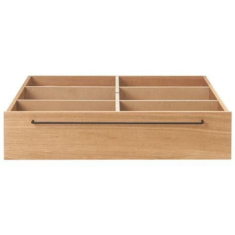 Underbed Storage Bed Frame Bed Frame Underbed Storage L Oak W80 D90 5 H19cm Muji