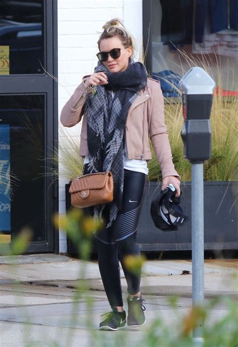 Hilary Bag hilary duff quilted leather bag handbags lookbook