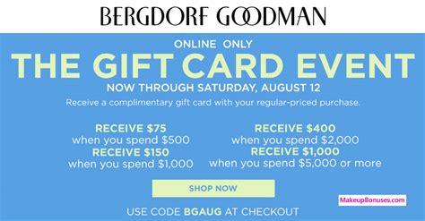 Bergdorf Goodman Sale by Discount Offers 2017 Makeup Bonuses
