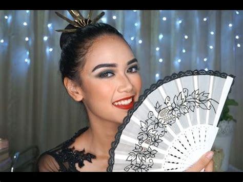 tutorial make up untuk tari saman full download tips tutorial make up tari jawa wanita