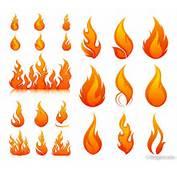4 Designer  Flame Vector Material
