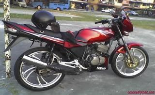 Minyak 2t Quicksilver east biker story yamaha rxz 133cc
