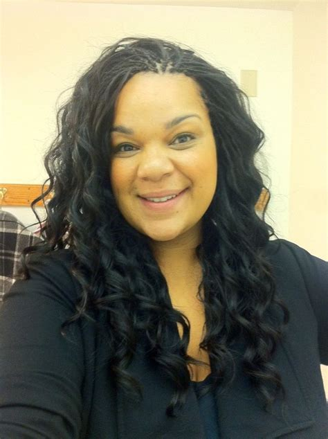 how to wrap a middle part bob weave tree braids with sew in weave in the middle yelp quot tree