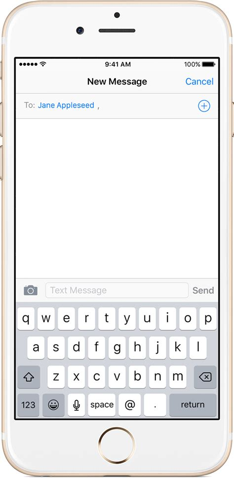 message to send a message with your iphone or ipod touch