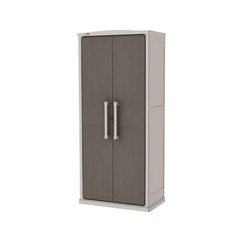 Keter Storage Cabinet Keter Optima Outdoor Storage Cabinet Indoor 1 8 M 2 Door Free Post Ebay