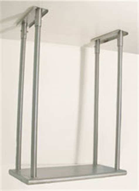 Ceiling Shelf Brackets by Advance Tabco Ceiling Mounted Shelving