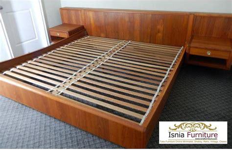 Meja Nightstand Nakas 78 harga tempat tidur jati minimalis jual murah model
