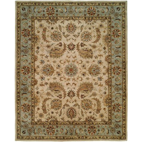 6 X 10 Area Rug Kalaty Empire Ivory 2 Ft 6 In X 10 Ft Area Rug Em 294 2610 The Home Depot