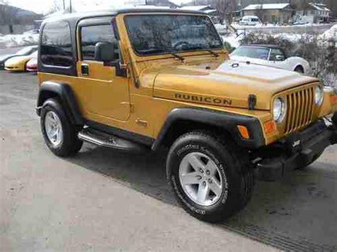 jeep convertible 4 door sell used 2003 jeep wrangler rubicon 4x4 hard top 2 door