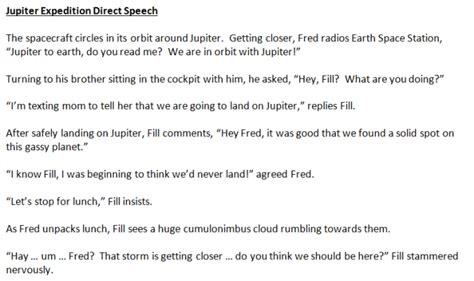 Essay Direct Speech by Use Comics To Teach Direct Speech Practical Pages