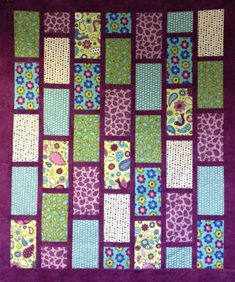 Brick Quilt Pattern Free by Quilt Patterns
