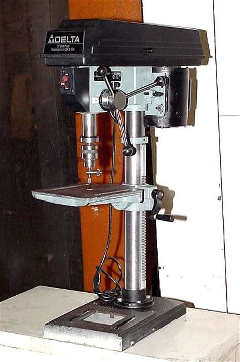 delta bench drill press machinery values inc 15 swing 0 33hp spindle delta